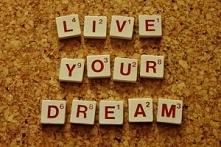 """""""Bądź wierny swojej pasji, ..."""