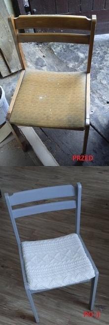 Metamorfoza krzesła:)