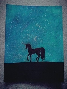 Unicorn + space = ♡