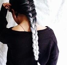 Chce takie włosy...chociaż miałam już takie tylko fiolet i blond