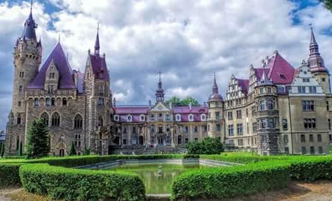 Pałac w Mosznej - Polski Disneyland <3