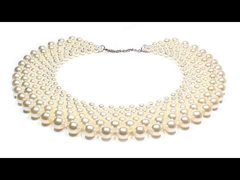 Biżuteria ❤ DIY: zroszony kołnierz