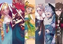 B4 + Anna i Elsa