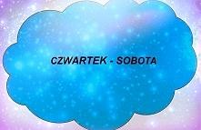 Związek Czwartku z Sobotą... Różnice między nimi dotyczą zarówno temperamentu...