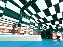Oto kolejna ciekawa realizacja DPS - plafony DPS lume zamontowane w galerii S...