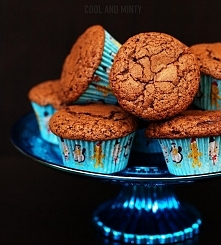 Czekoladowe muffiny, lekkie jak piórko