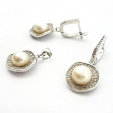 Komplet biżuterii wykonany ...