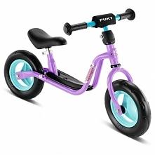 Pierwszy rowerek biegowy od dwóch lat PUKY LR M kolor liliowy