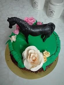 koń z masy cukrowej