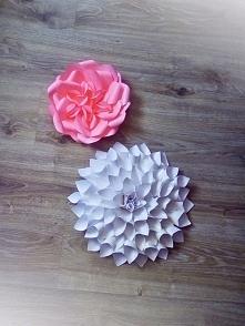 Piękne kwiaty z papieru