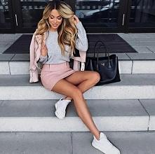 Wiosna :) / grey Pink *