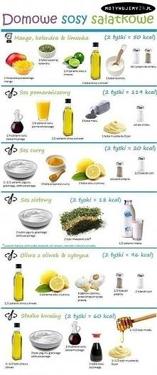 Domowe sosy sałatkowe ;)