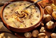 Zupa pieczarkowa Małgorzaty