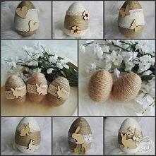 Własnoręcznie wykonane jajk...