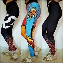 sprzedam legginsy fitness z...