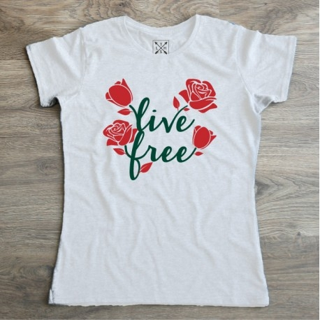 Kolejna nasza nowość w klimacie wiosny i BOHO. Koszulka Premium Live free - tylko 49 zł!  littlethings.pl