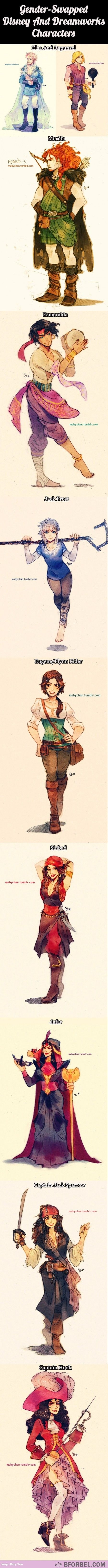 Chciałabym zobaczyć bajkę Disney'a w której głównym bohaterem byłby chłopak [wiem, że taki istnieją] ale coś w innej odsłonie jak w tym