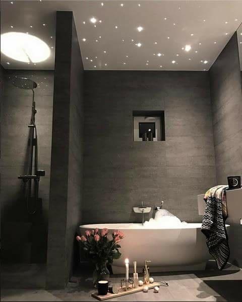łazienka pełna gwiazd ;)