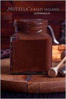Nutella z kaszy jaglanej