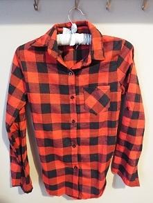 Koszula krata czerwono-czarna <3 XS/S
