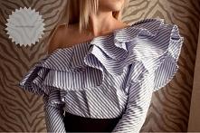 Bluzka ramiona falbany <3 XS/S