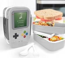 Lunch box dwupoziomowy plas...