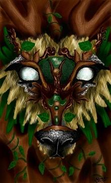 strażnik lasu, digital painting