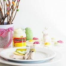 Przepis na jaja faszerowane w 3 kolorach, przepis po kliknięciu w zdjęcie.