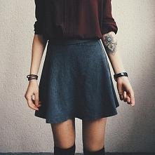 Tatuaż <3 Zakolanówki <3