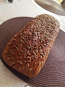 Domowy chleb razowy :) przepis po kliknięciu w zdjęcie :)