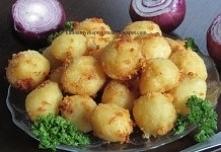 Kulki ziemniaczano- serowe