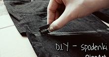DIY? Proste do stworzenia szorty :)