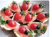 kanapeczki biedroneczki :)