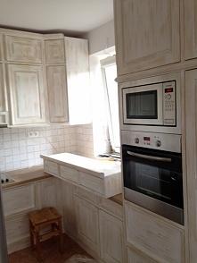 kuchnia drewniana na wymiar...