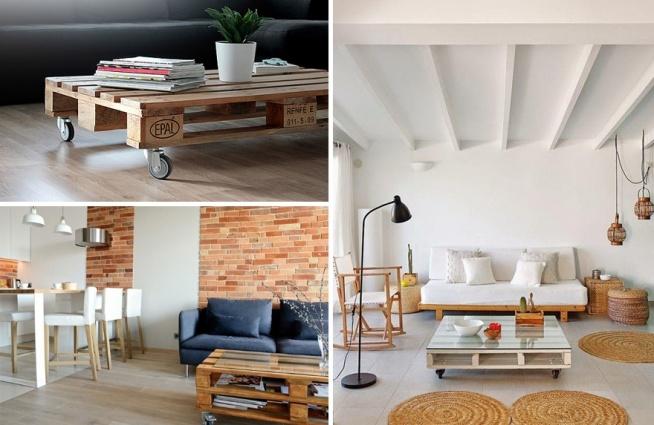 Niezwykłe meble i dodatki z palet - stoliki
