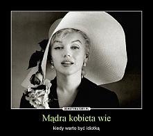 madra kobieta wie...