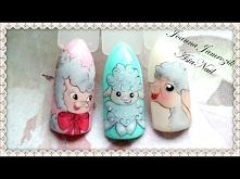 BARANEK WIELKANOCNY - Easter Lamb Nail Art | AsiaNail