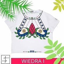 Poczuj się wiosennie, kolorowo i dziewczęco w koszulce Wiedra I. Kupisz ją on...
