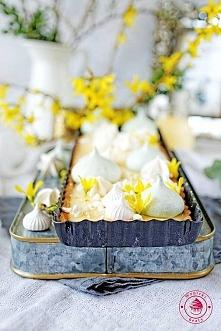 Mazurek cytrynowy - Wypieki Beaty