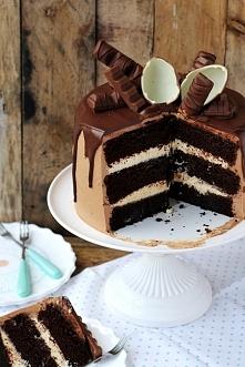 Tort potrójnie czekoladowy ...