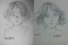 mój progress pomiędzy 2015 a 2017!!! Wracam po przerwie, niedługo będę zakład...
