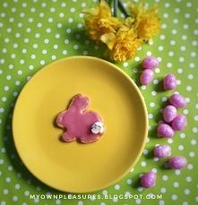 Wielkanocne zajączki z różo...