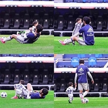 Isco Jr with Daddy <3