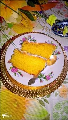 Cytrynowa babka z pomarańcz...