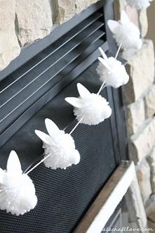 wielkanocne dekoracje :) królikowo