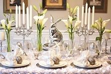 elegancka dekoracje stołu
