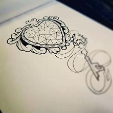 szkic/pomysł na tatuaz