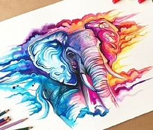 gdyby takie słonie istniały...