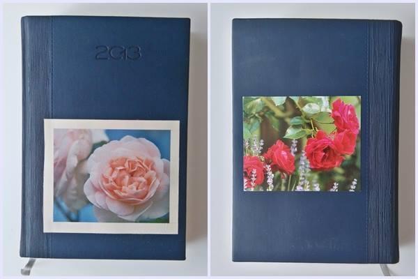 Spraw aby twój kalendarz był oryginalny. Naklej pocztówkę, obrazek lub fotografie na taśmie dwustronnej.