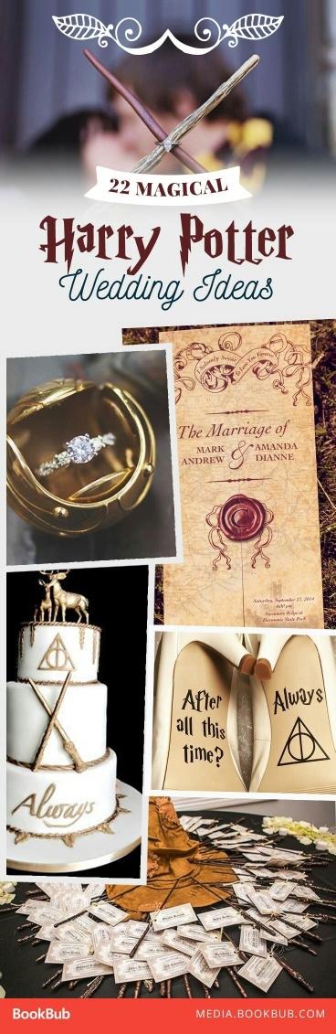 ślub Motywy Z Harrego Pottera Na Harry Potter Zszywkapl